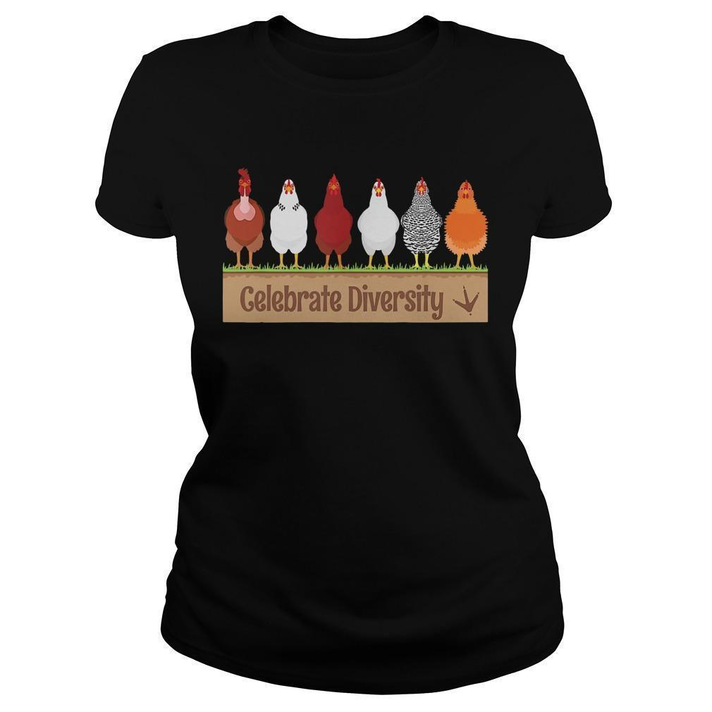 Chicken Celebrate Diversity Longsleeve