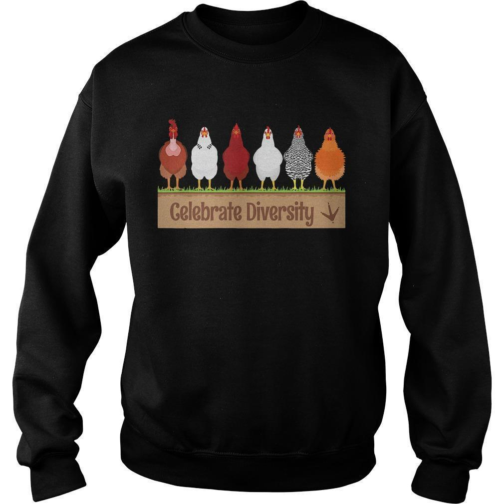 Chicken Celebrate Diversity Sweater