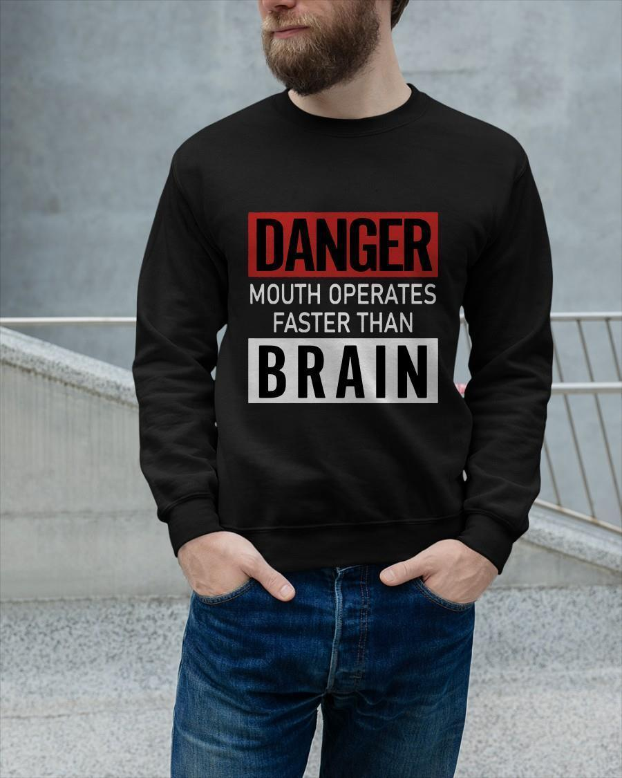 Danger Mouth Operates Faster Than Brain Sweater