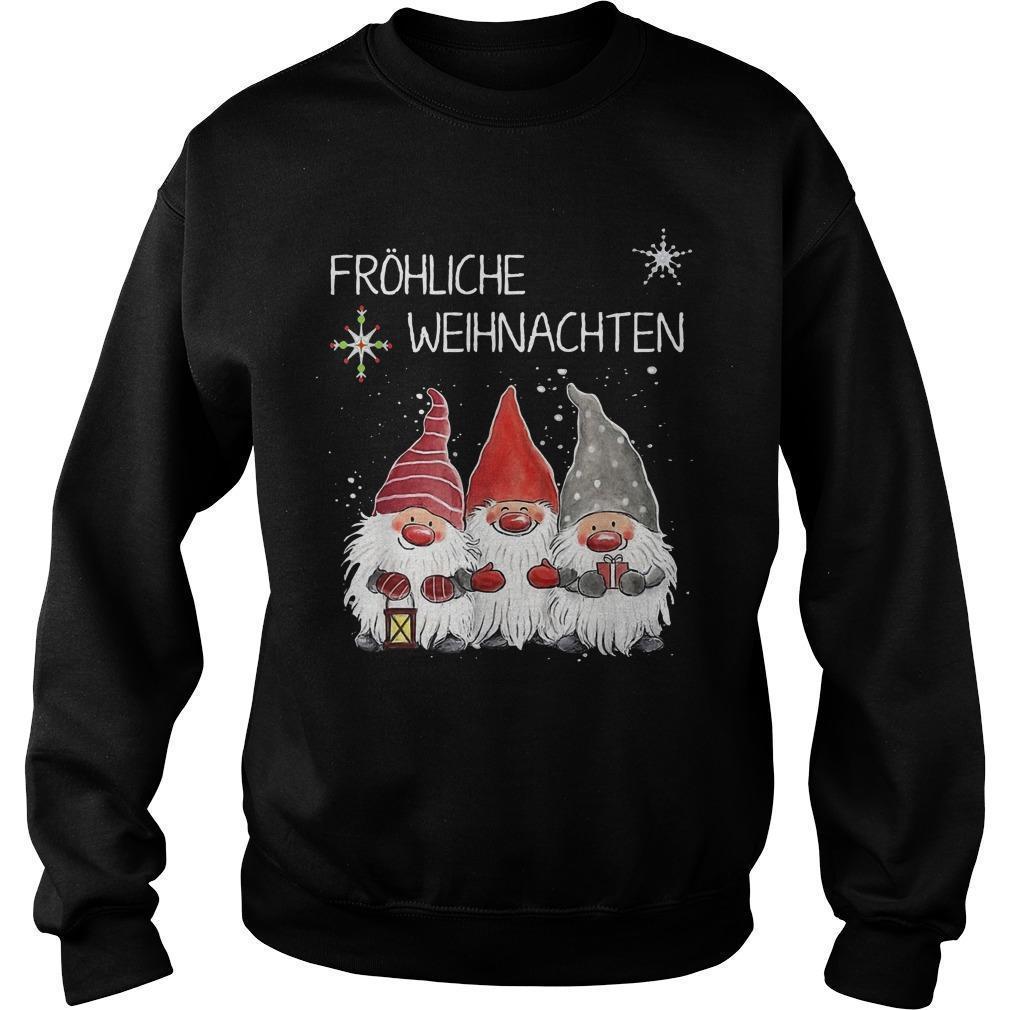 Fröhliche Weihnachten Sweater