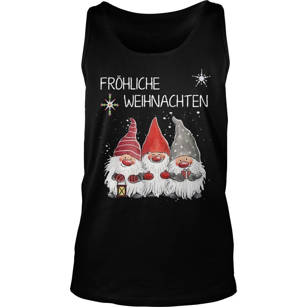 Fröhliche Weihnachten Tank Top