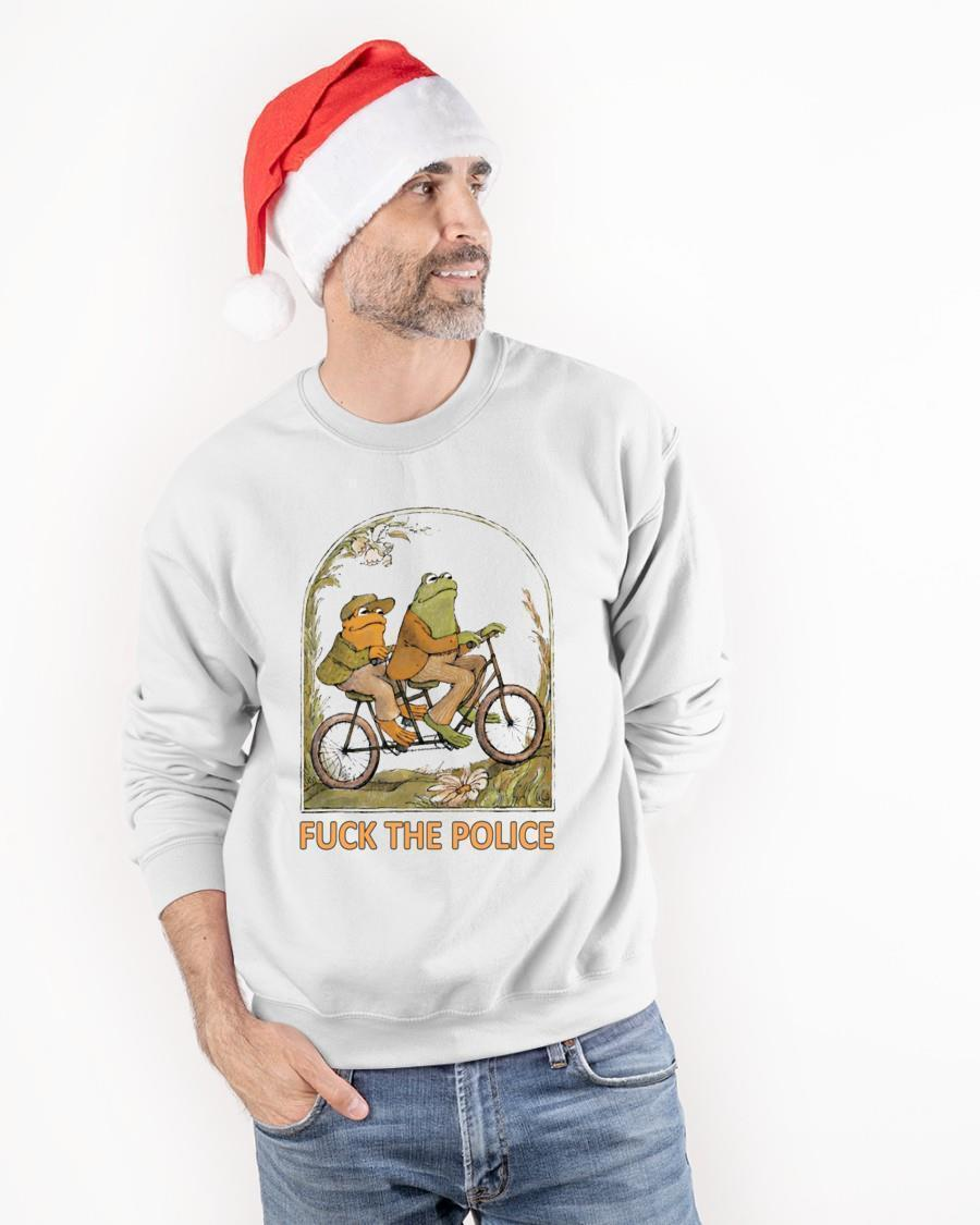 Fuck The Police Frog Tank Top