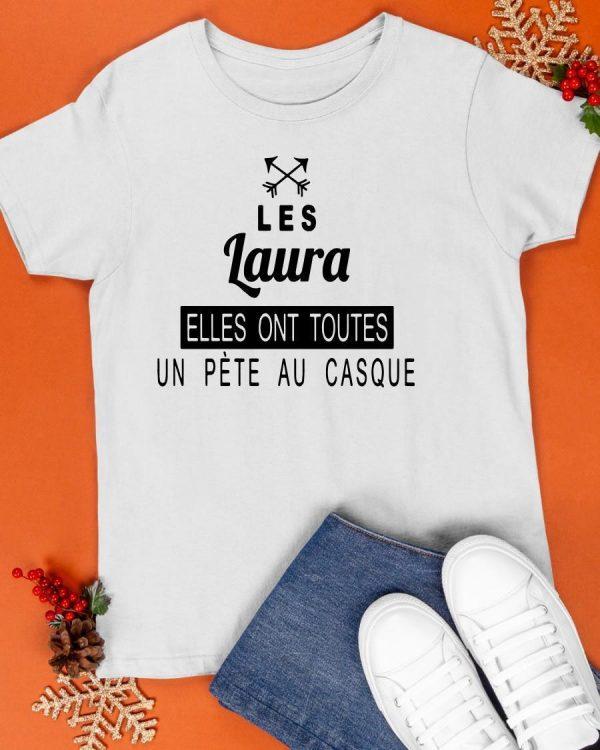 Les Laura Elles Ont Toutes Un Pète Au Casque Shirt