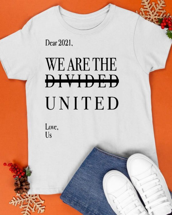 Minnesotan Dear 2021 We Are The Divided United Love Us Shirt