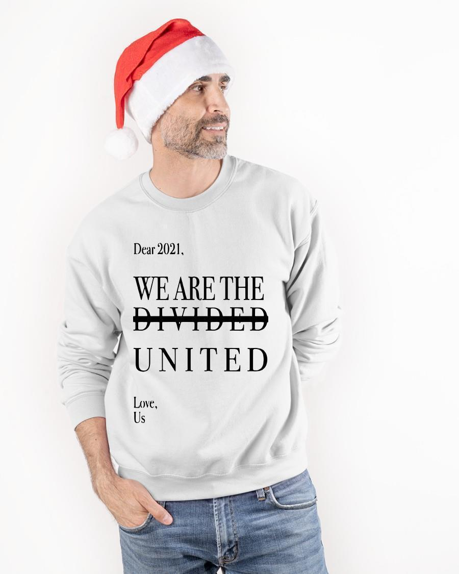 Minnesotan Dear 2021 We Are The Divided United Love Us Sweater