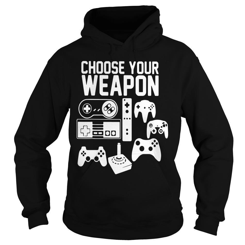 Play Station Choose Your Weapon Hoodie