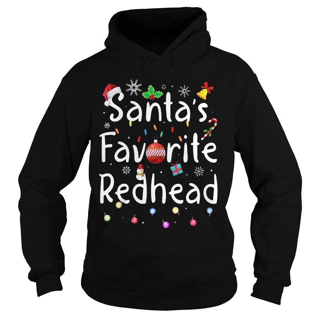 Santa Favorite Redhead Hoodie