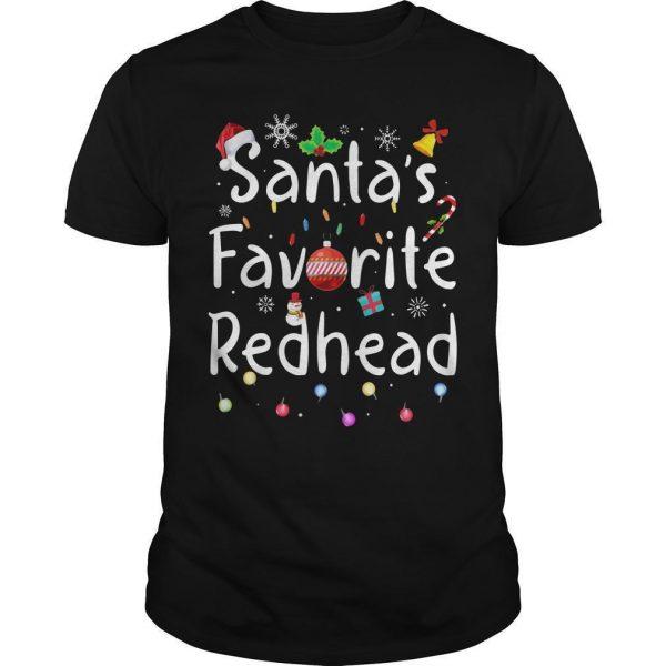 Santa Favorite Redhead Shirt