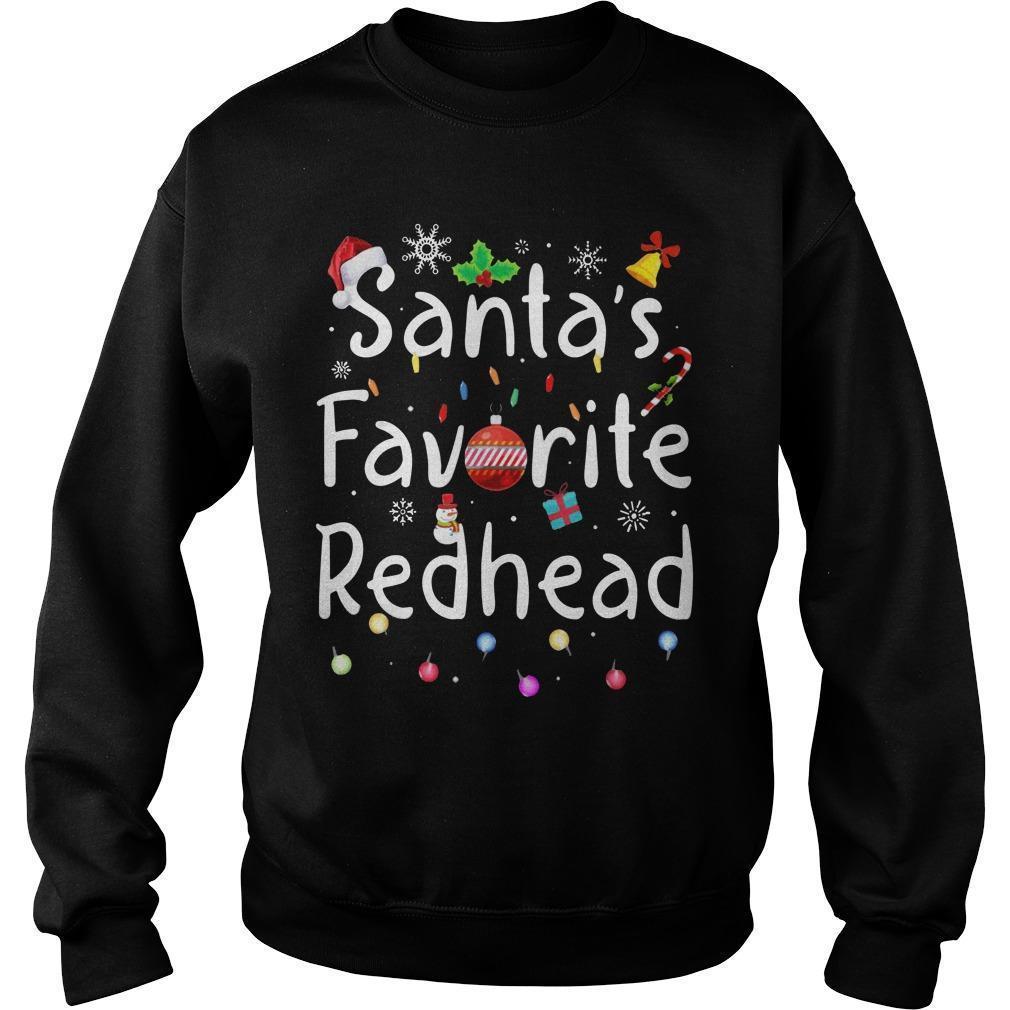 Santa Favorite Redhead Sweater