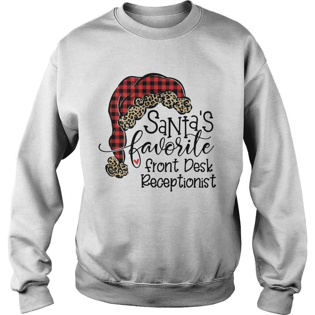Santa's Favorite Front Desk Receptionist Sweater