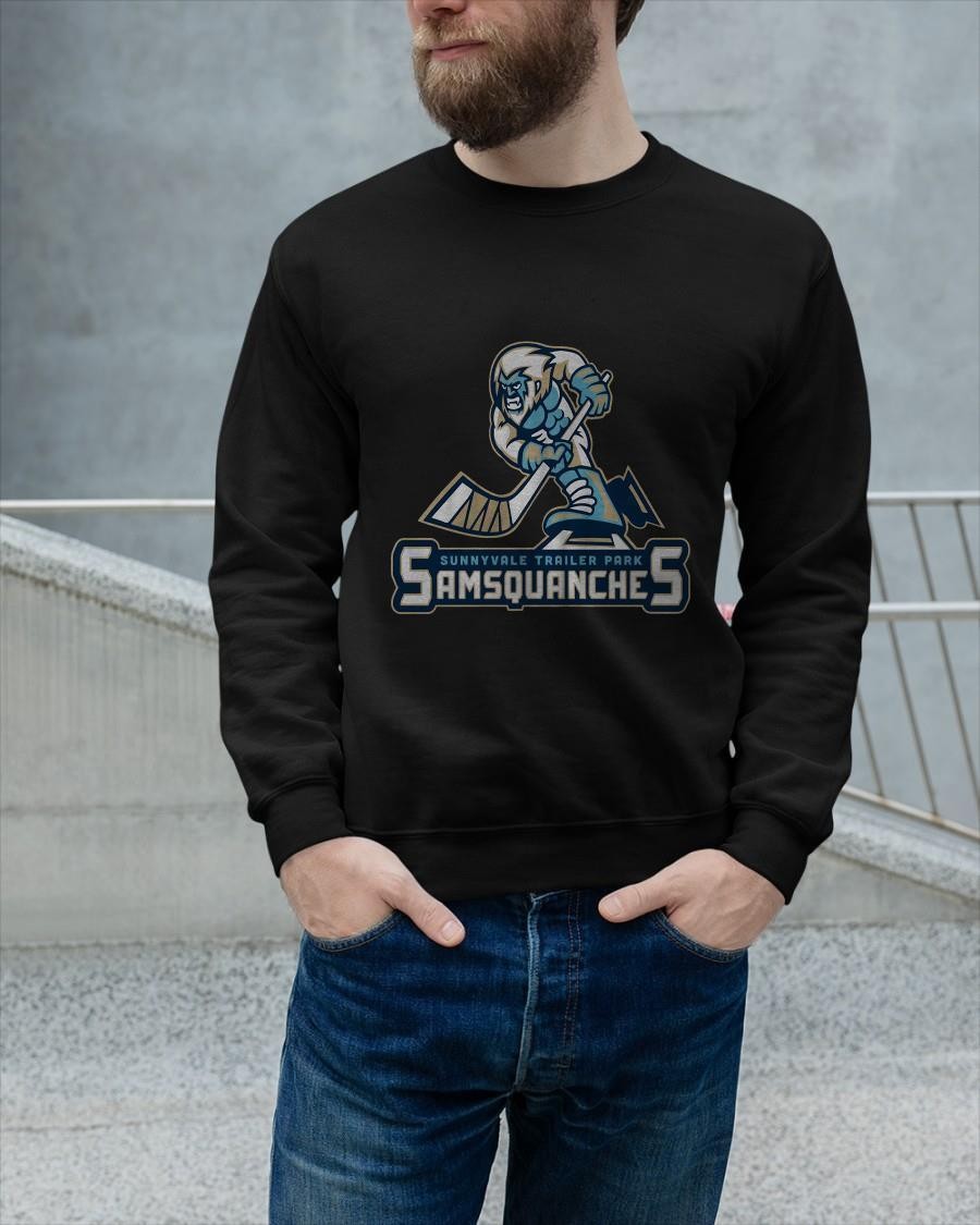 Sunnyvale Trailer Park Samsquanches Sweater