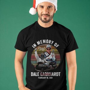 Vintage In Memory Of Dale Earnhardt Shirt