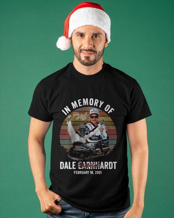 Vintage In Memory Of Dale Earnhardt Shirt