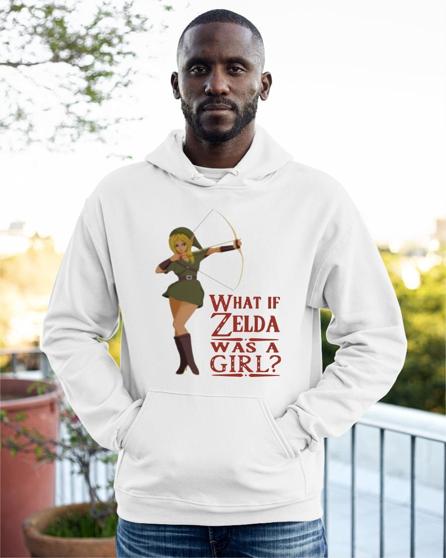 What If Zelda Was A Girl Hoodie