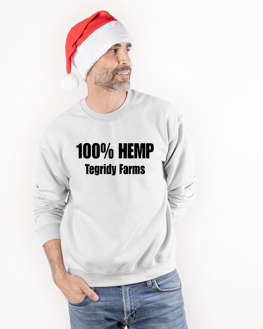 100% Hemp Tegridy Farms Sweater