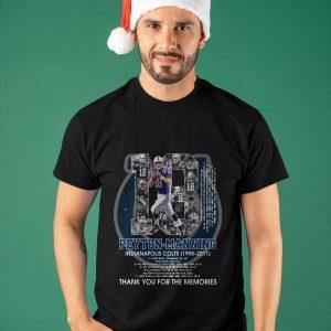 18 Peyton Manning Indianapolis Colts Shirt
