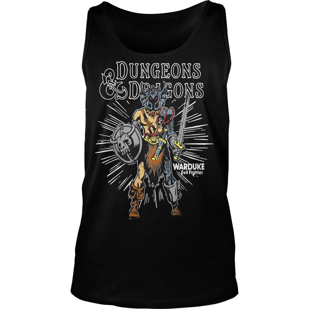 Dungeons Dragons Warduke Evil Fighter Tank Top