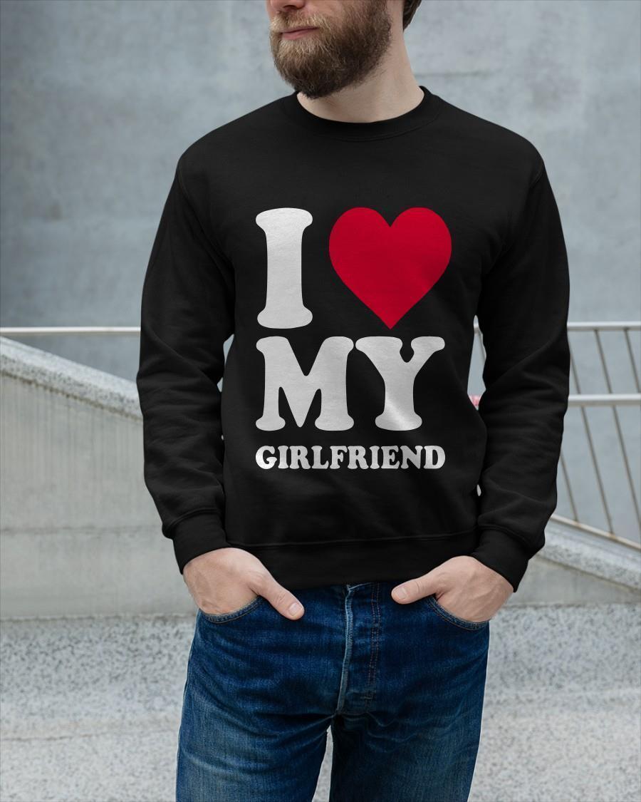 I Love My Girlfriend Longsleeve