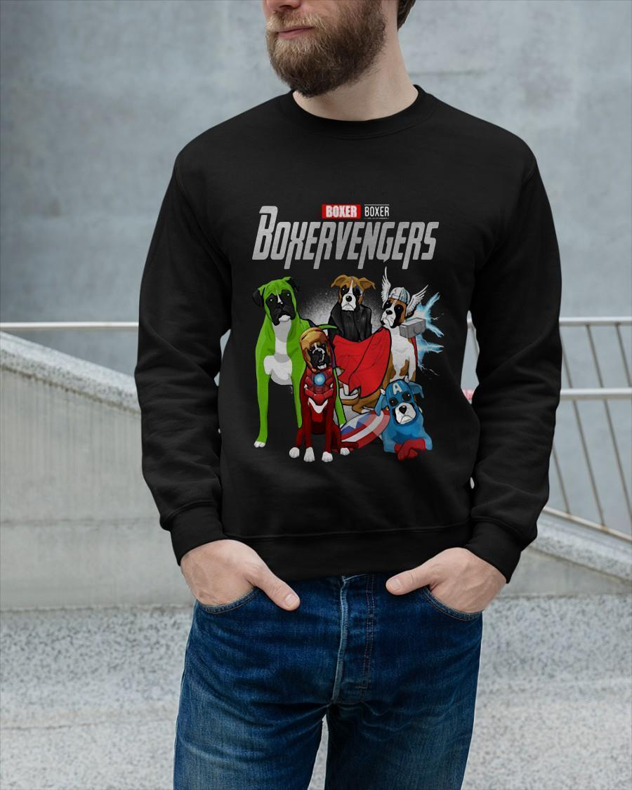 Marvel Boxer Boxervengers Sweater