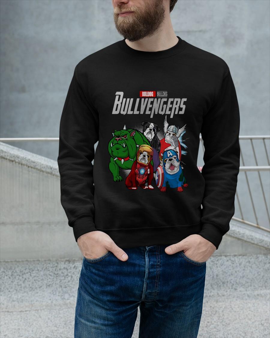Marvel Bulldog Bullvengers Sweater