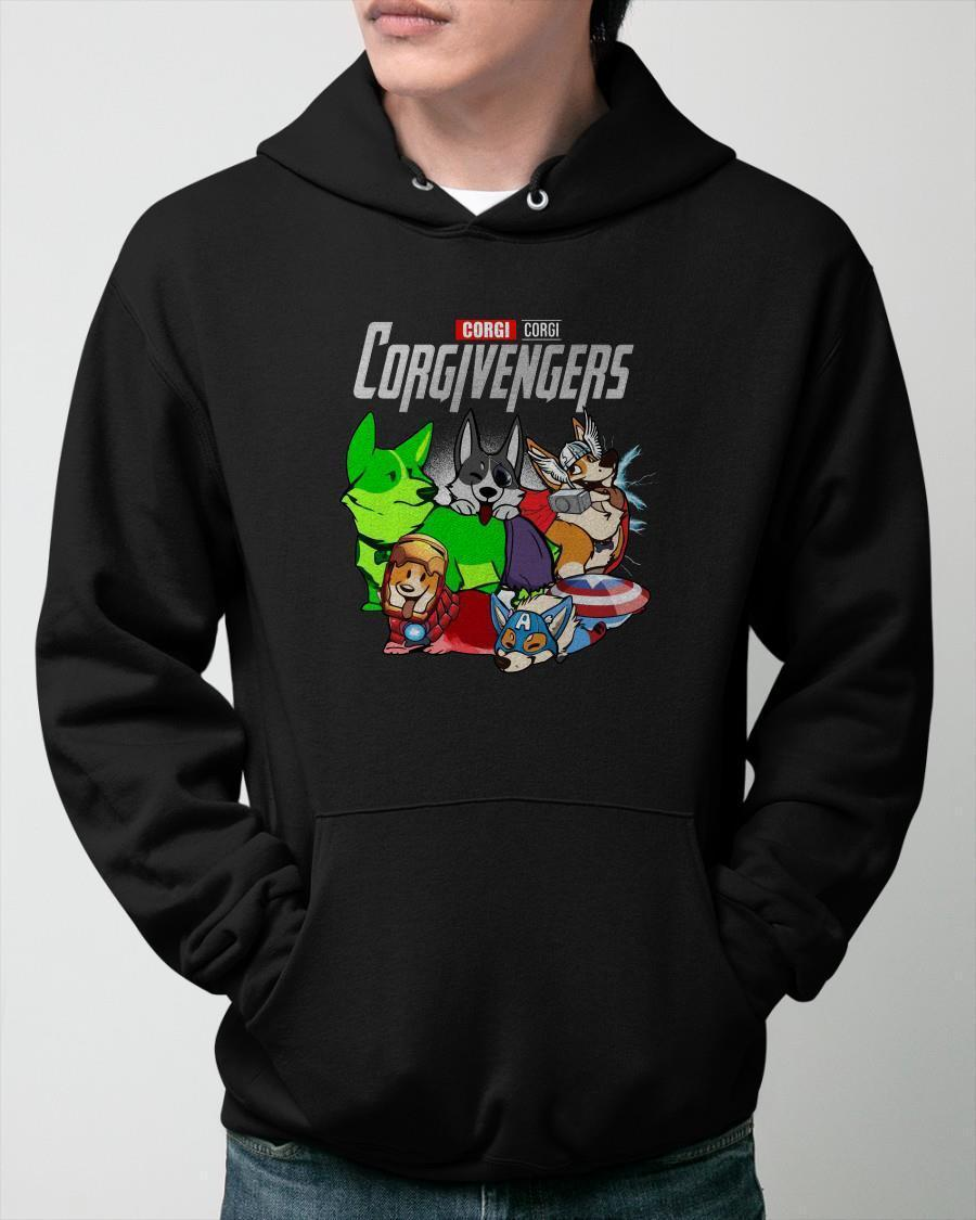 Marvel Corgi Corgivengers Hoodie