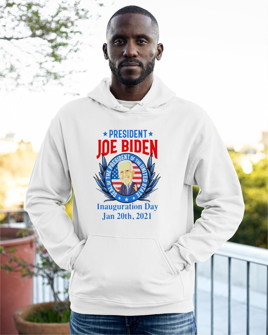 President Joe Biden Seal Of The President Of The United Inauguration Day Hoodie