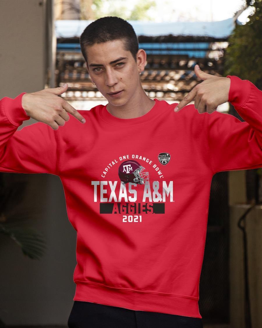 Texas A&m Orange Bowl Sweater