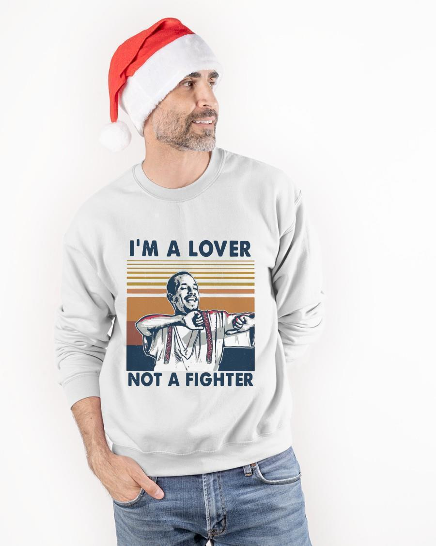 Vintage I'm Lover Not A Fighter Sweater