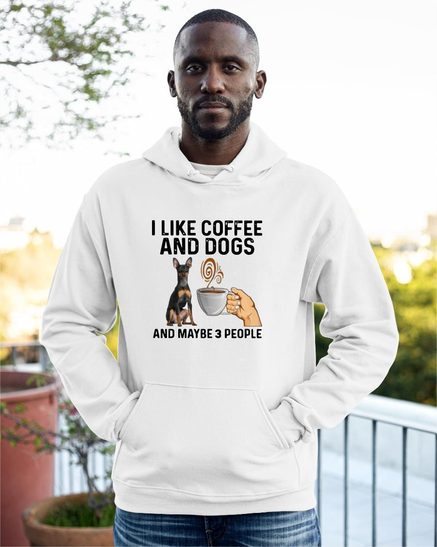 Vulnerable Dog Breeds I Like Coffee And Dogs And Maybe 3 People Hoodie