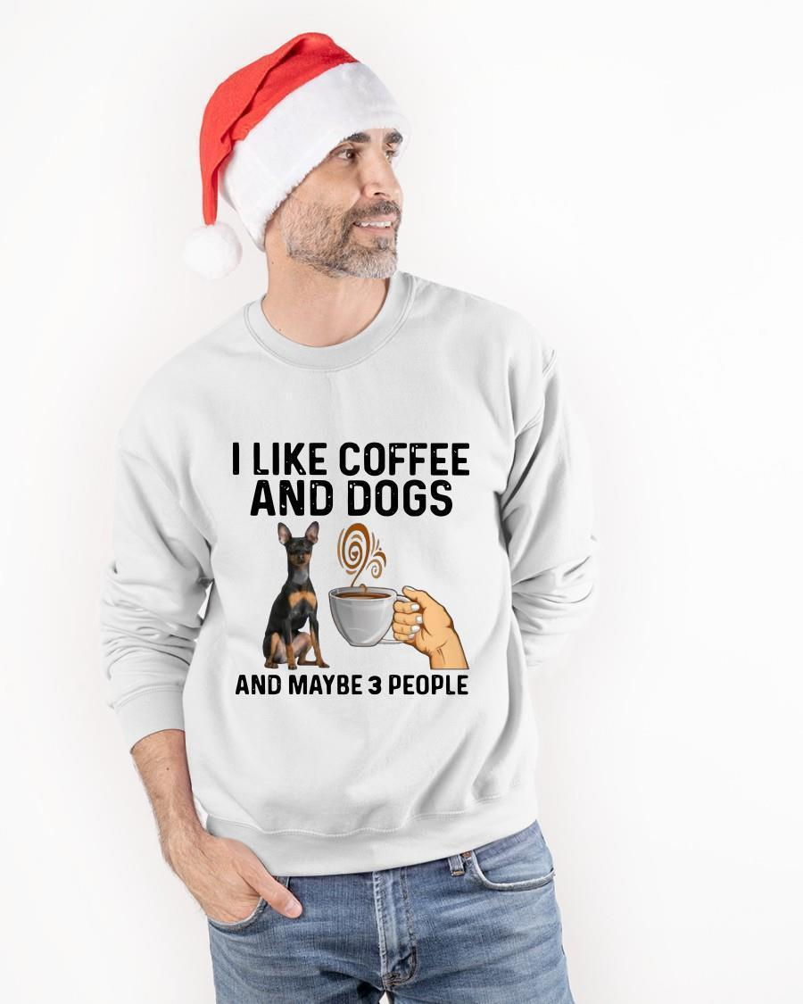 Vulnerable Dog Breeds I Like Coffee And Dogs And Maybe 3 People Tank Top