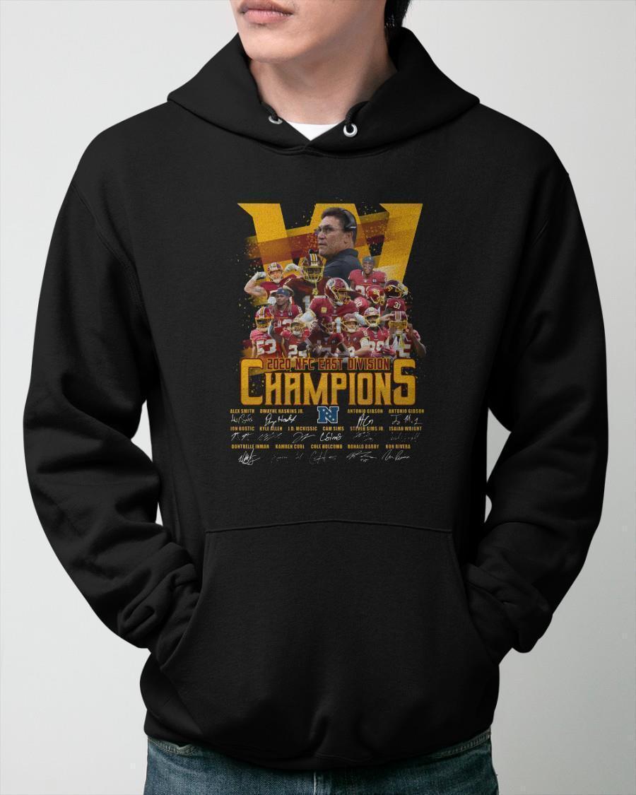 Washington Redskins 2020 Nfc East Division Champions Hoodie