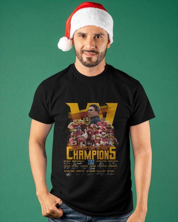 Washington Redskins 2020 Nfc East Division Champions Shirt
