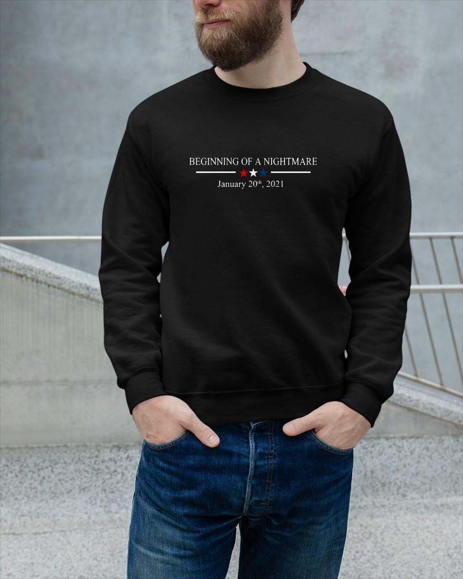 Beginning Of A Nightmare January 20th 2021 Sweater