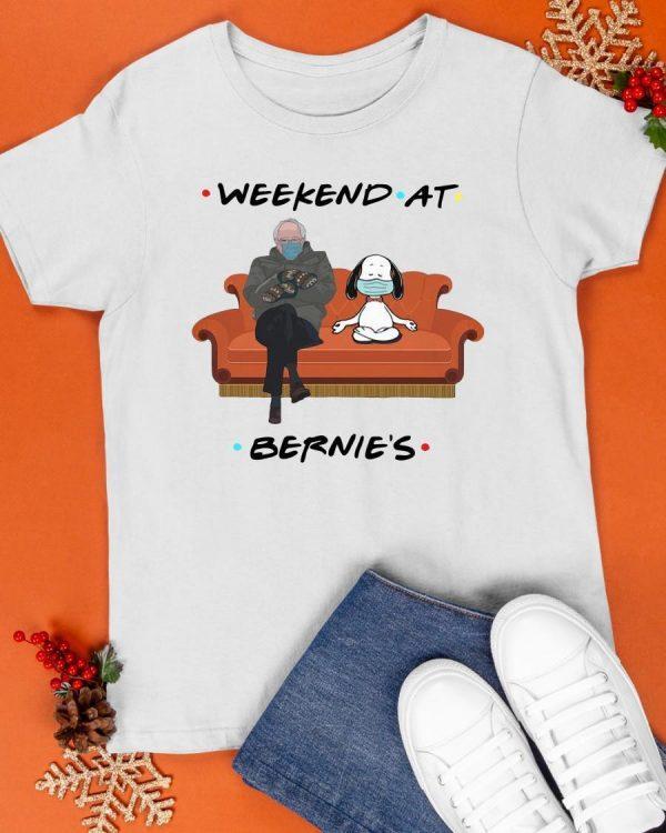 Bernie And Snoopy Weekend At Bernie's Shirt