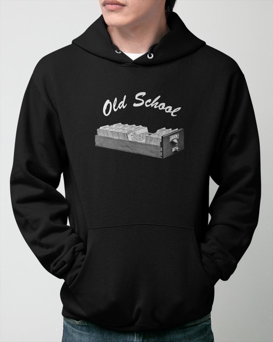 Librarian Old School Hoodie