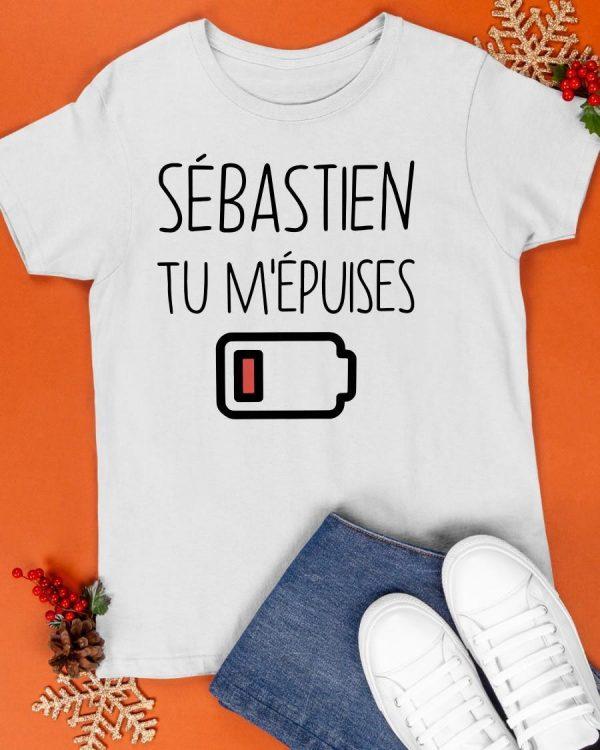 Sébastien Tu M'épuises Shirt