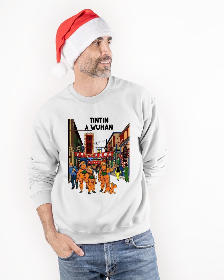 Tintin In Wuhan Sweater