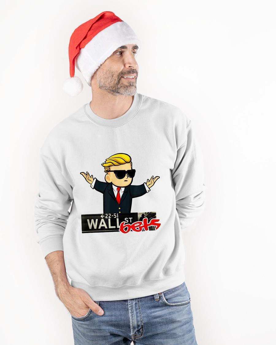 Trump 22 51 Wall St Bets Sweater