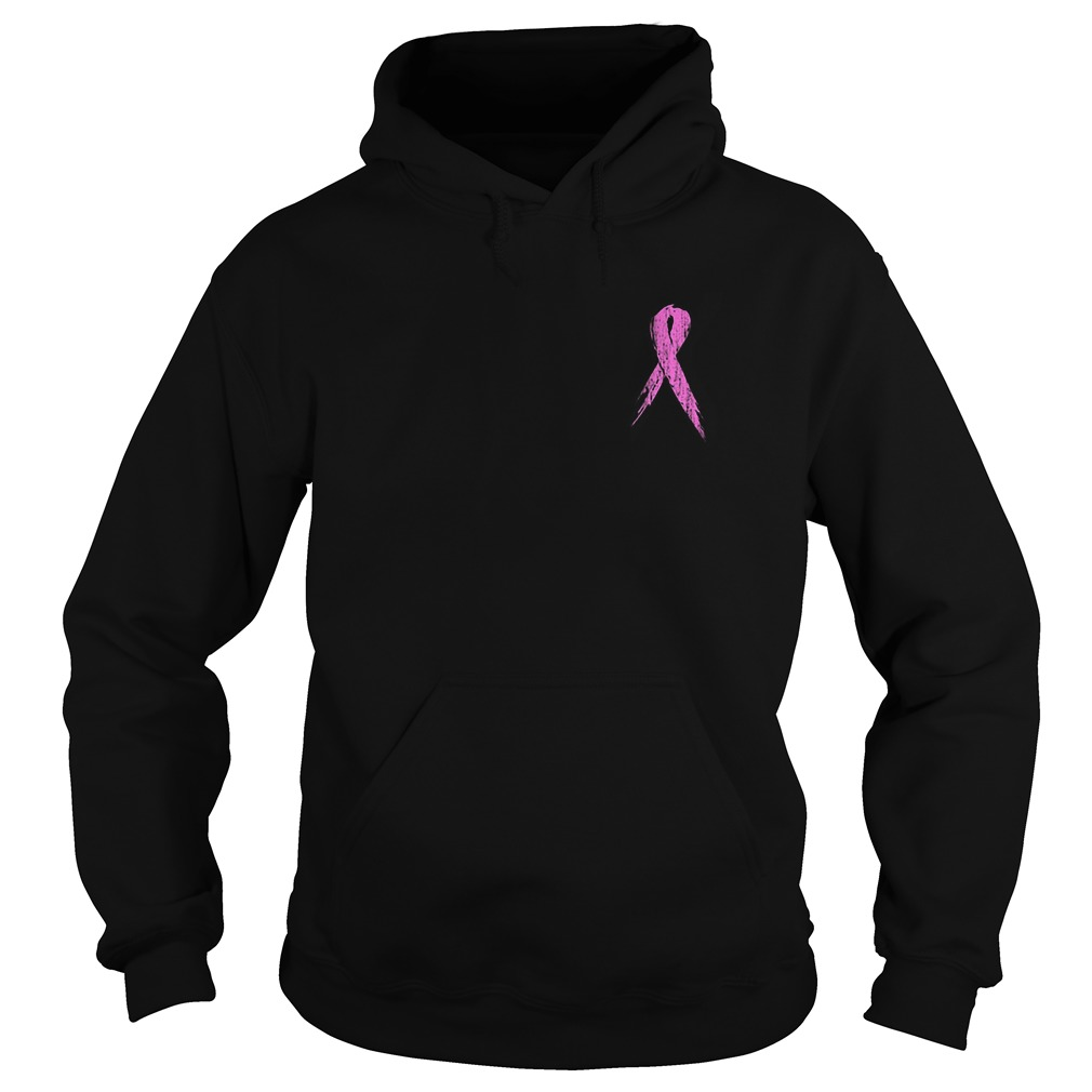 No One Fights Alone Breast Cancer Awareness Hoodie