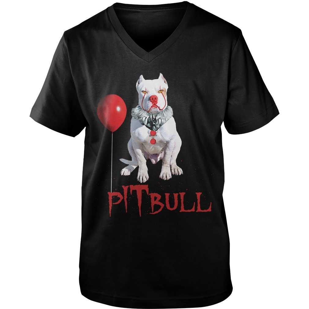 Pennywise Pitbull Halloween Is Coming Guys V Neck