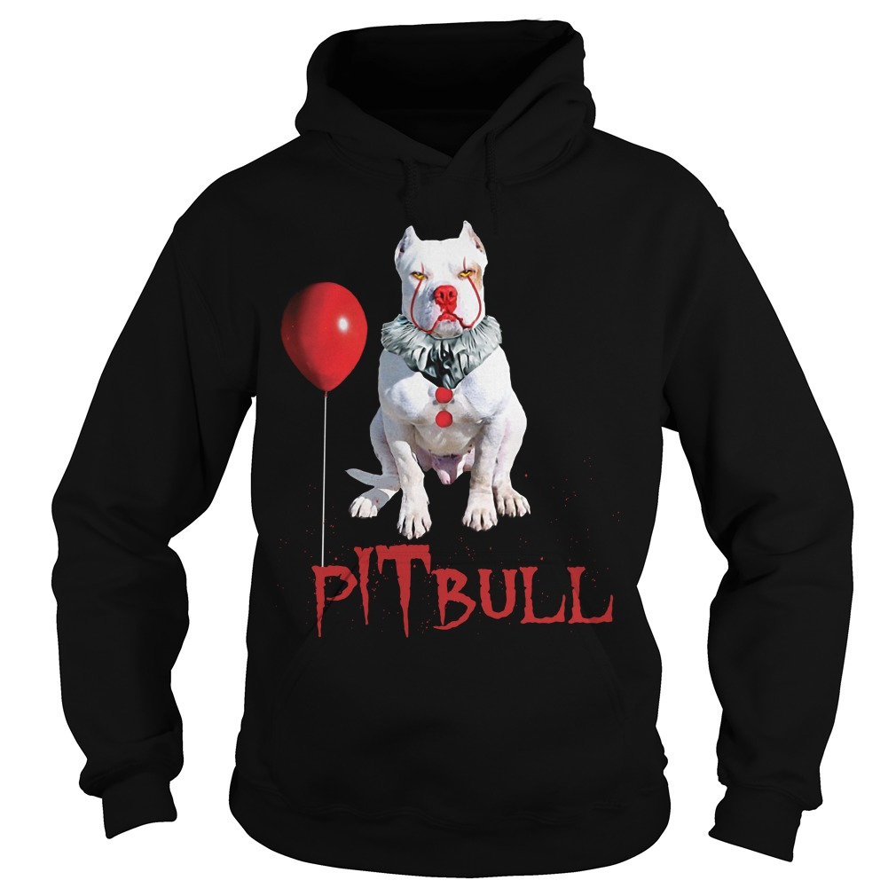 Pennywise Pitbull Halloween Is Coming Hoodie