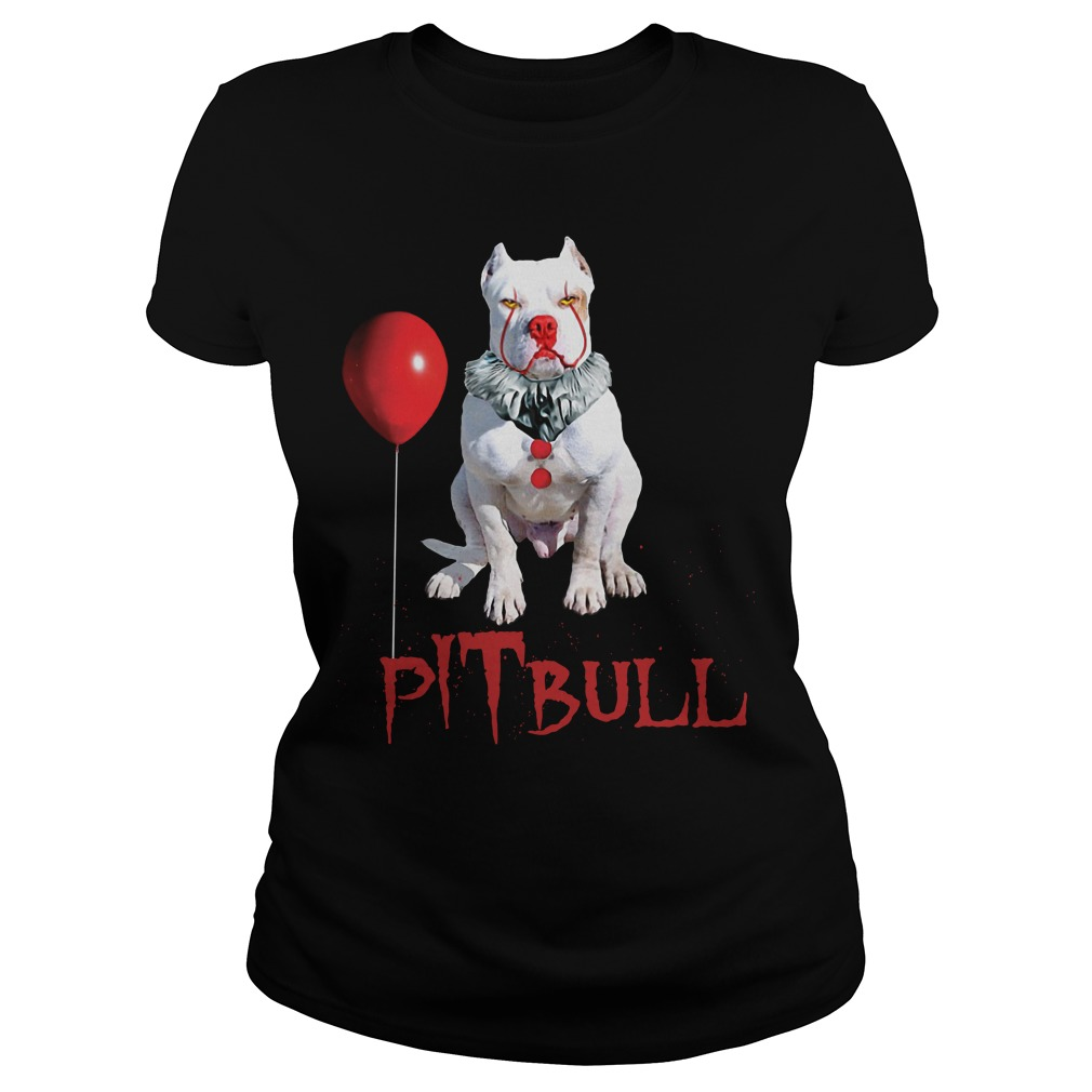 Pennywise Pitbull Halloween Is Coming Ladies