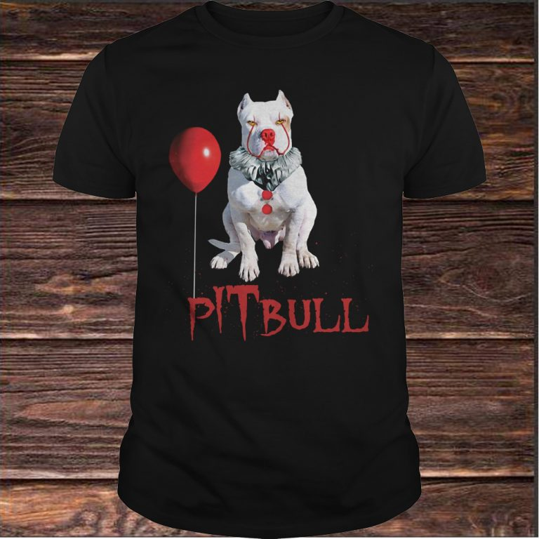 Pennywise Pitbull Halloween Is Coming Shirt