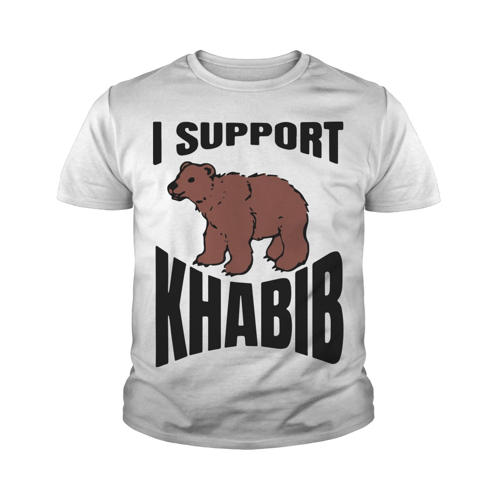 Bear Support Khabib Youth Tee