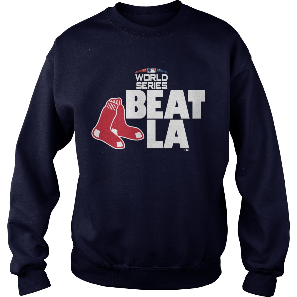 Boston Red Sox 2018 World Series Beat La Sweater