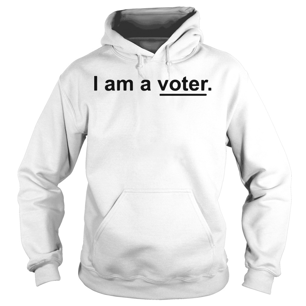 Ellis Ross I Am A Voter Hoodie