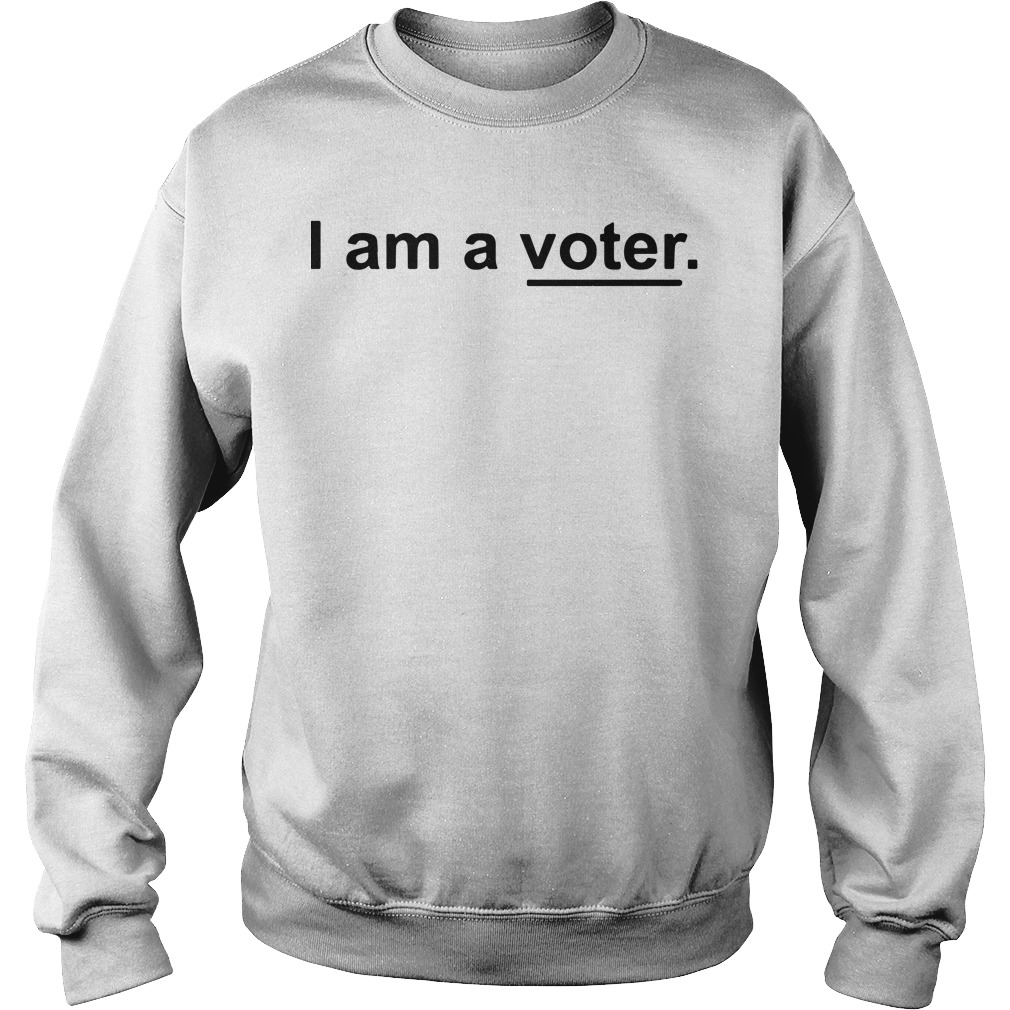 aEllis Ross I Am A Voter Sweater