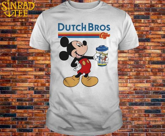 Mickey Dutch Bros Coffee Shirt