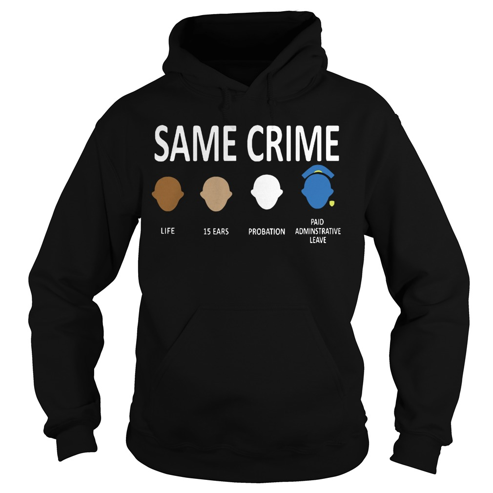 Official Colin Kaepernick Same Crime Hoodie