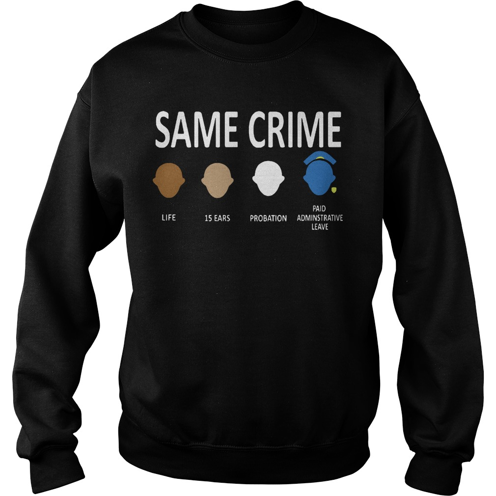 Official Colin Kaepernick Same Crime Sweater